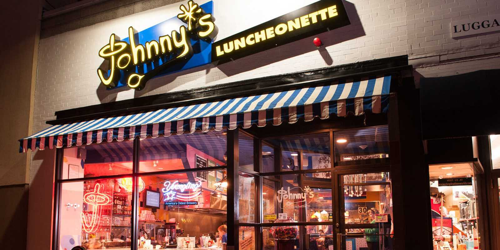 Johnny's Luncheonette front